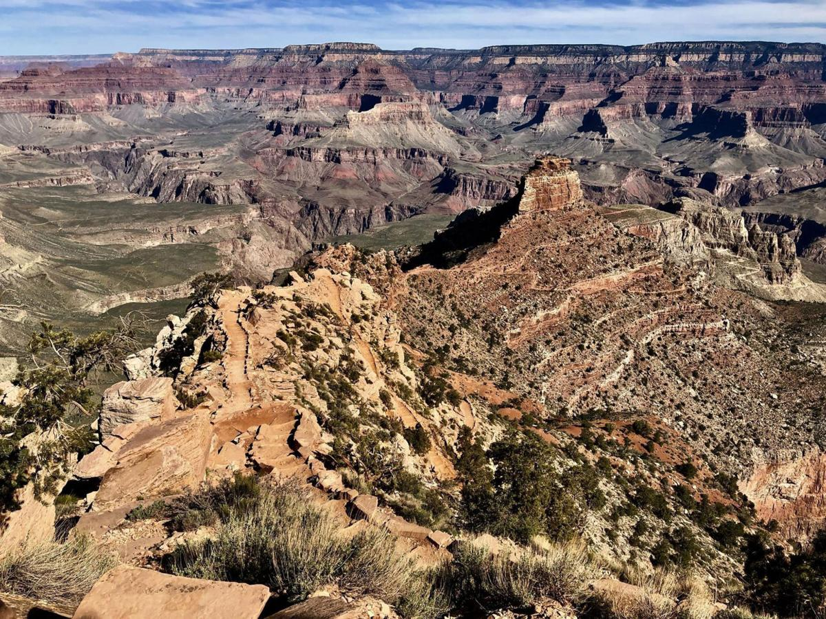 Traversing the Grand Canyon ranks as one of the trail's top highlights.