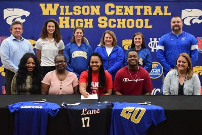 Wilson Central's Marshall signs with Lane College softball
