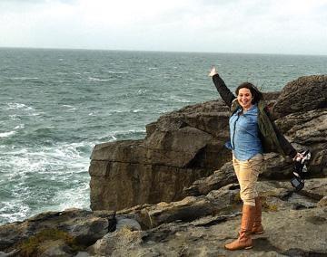 PHS alum completes teaching assignment program in Ireland