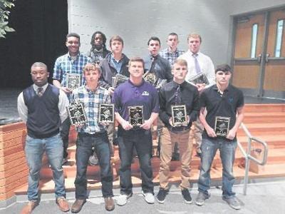 PHS Football players honored at banquet