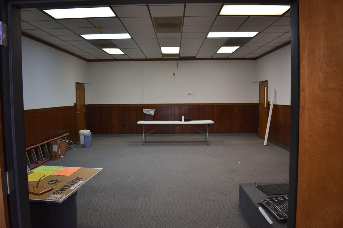 City hall empty