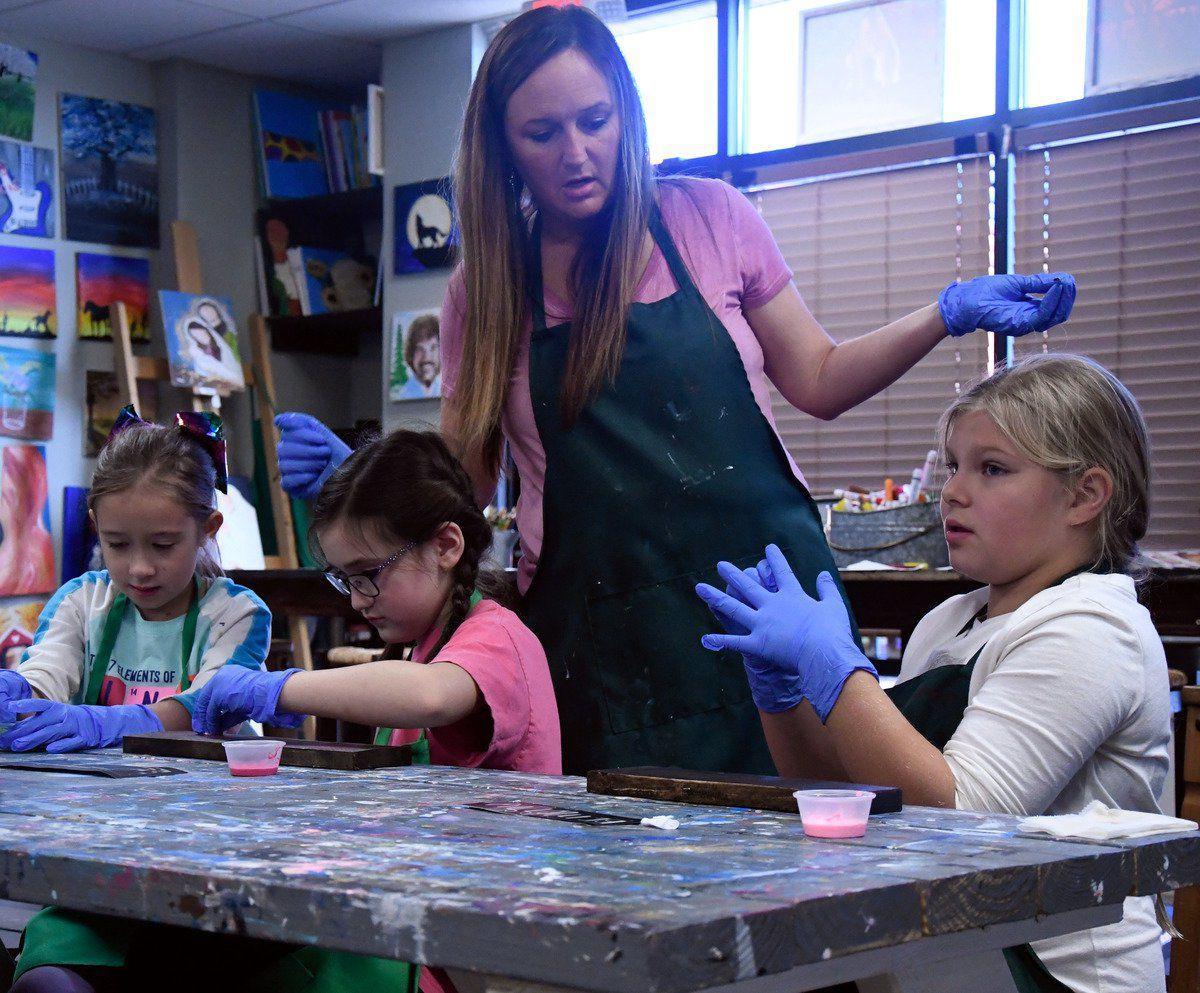 Children explore creativity through local camps
