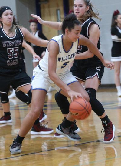 Lady Wildcats pull away from Station Camp