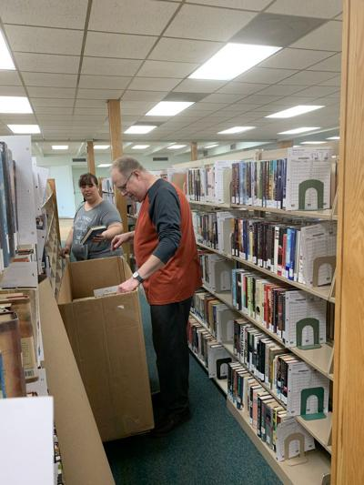 Lebanon library closed for renovations Crew removing asbestos; reopening planned for January