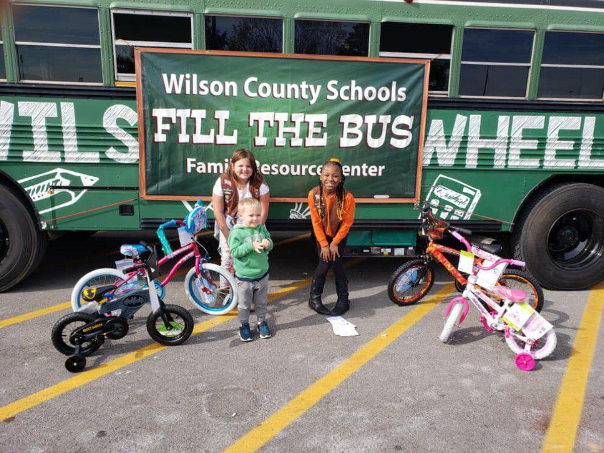 County's Fill the Bus event gets resources for kids in need