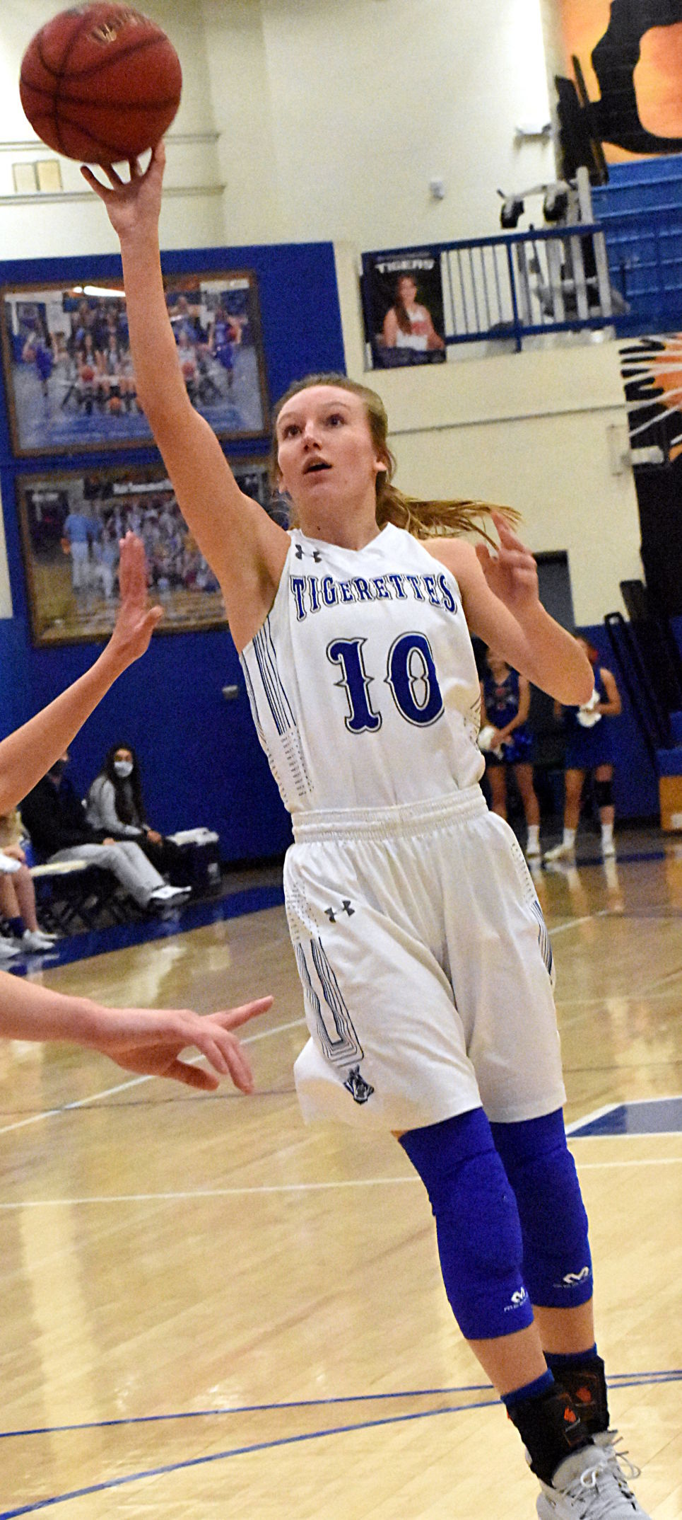 GREGORY NAMED MISS BASKETBALL FINALIST PHOTO 1