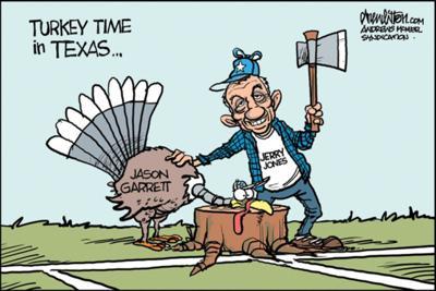 Editorial cartoon for Nov. 30, 2019
