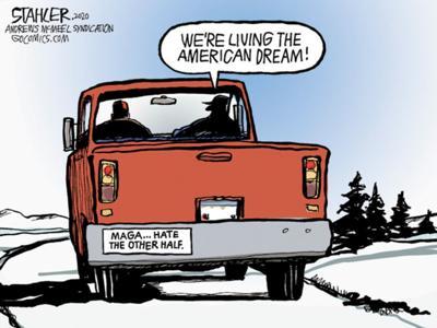 Editorial cartoon for Jan. 14, 2020