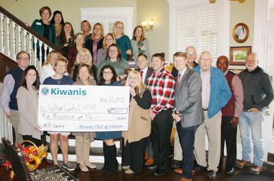 Lebanon Kiwanis Club donates $5,000 to Wilson County CASA