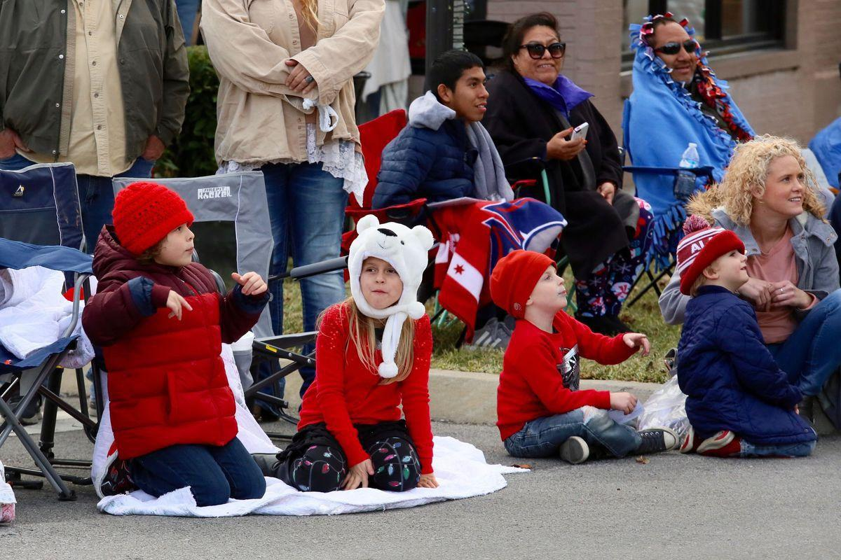 Holiday season marches in