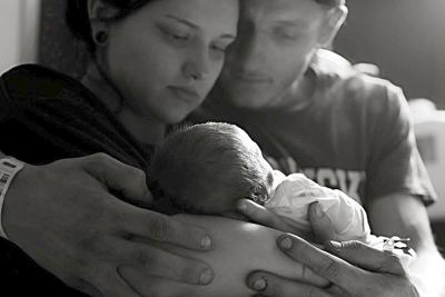 Baby Jemma Dawn Corey McAllister