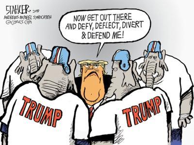 Editorial cartoon for Nov. 14, 2019