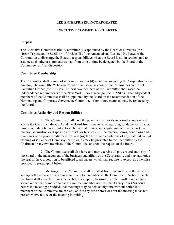 ECC Charter
