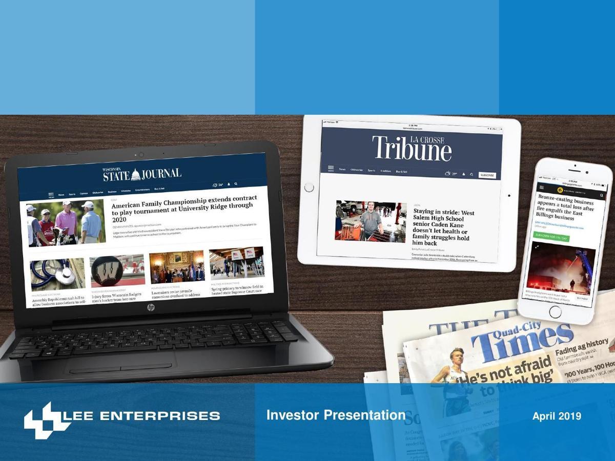 Lee Enterprises Q1 FY2019 Investor Presentation