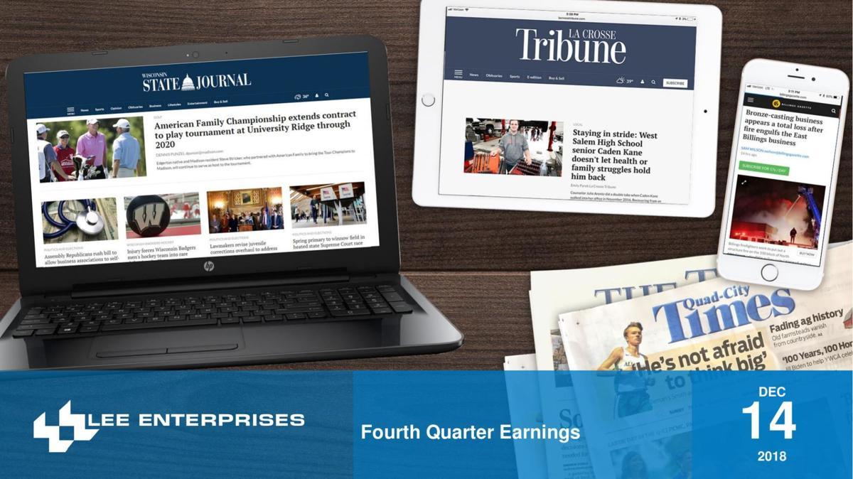 Lee Enterprises 2018 Q4 Earnings