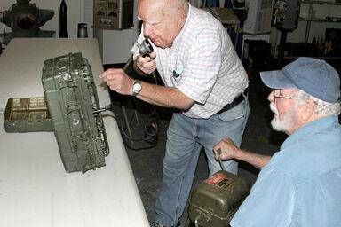 World War II jungle radio, generator will soon be up and running