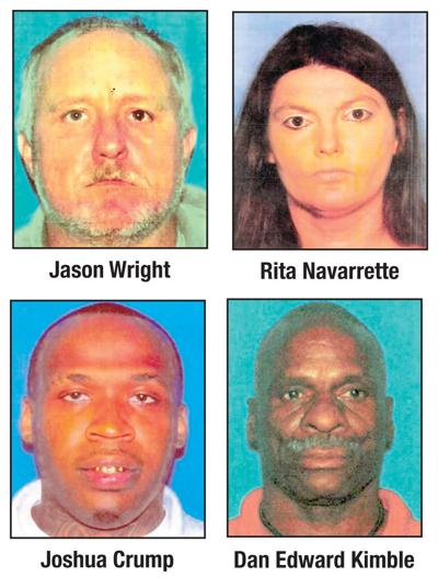 Sheriff's office needs help locating four felons on the lam