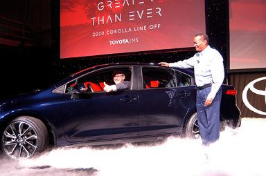 Toyota unveils new 2020 Corolla