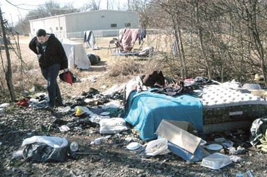 Tupelo takes count of and surveys homeless