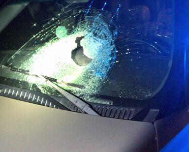 Road rage near  Tupelo; suspect sought