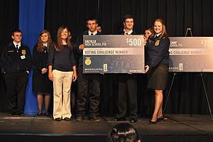 SALTILLO FFA EARNS $500 IN CHAPTER CHALLENGE
