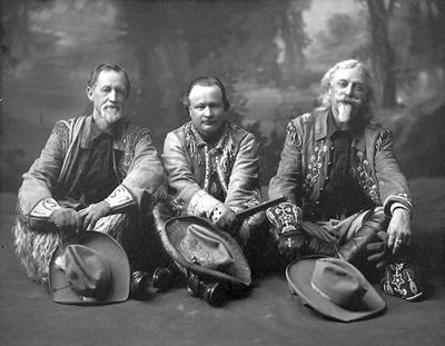 Buffalo Bill Cody rode through Tupelo two times