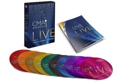 CMA live, greatest moments on 10-Disc set, 1968-2015