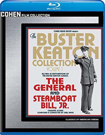 Two of Buster Keaton's best films arrive on DVD, Blu Ray