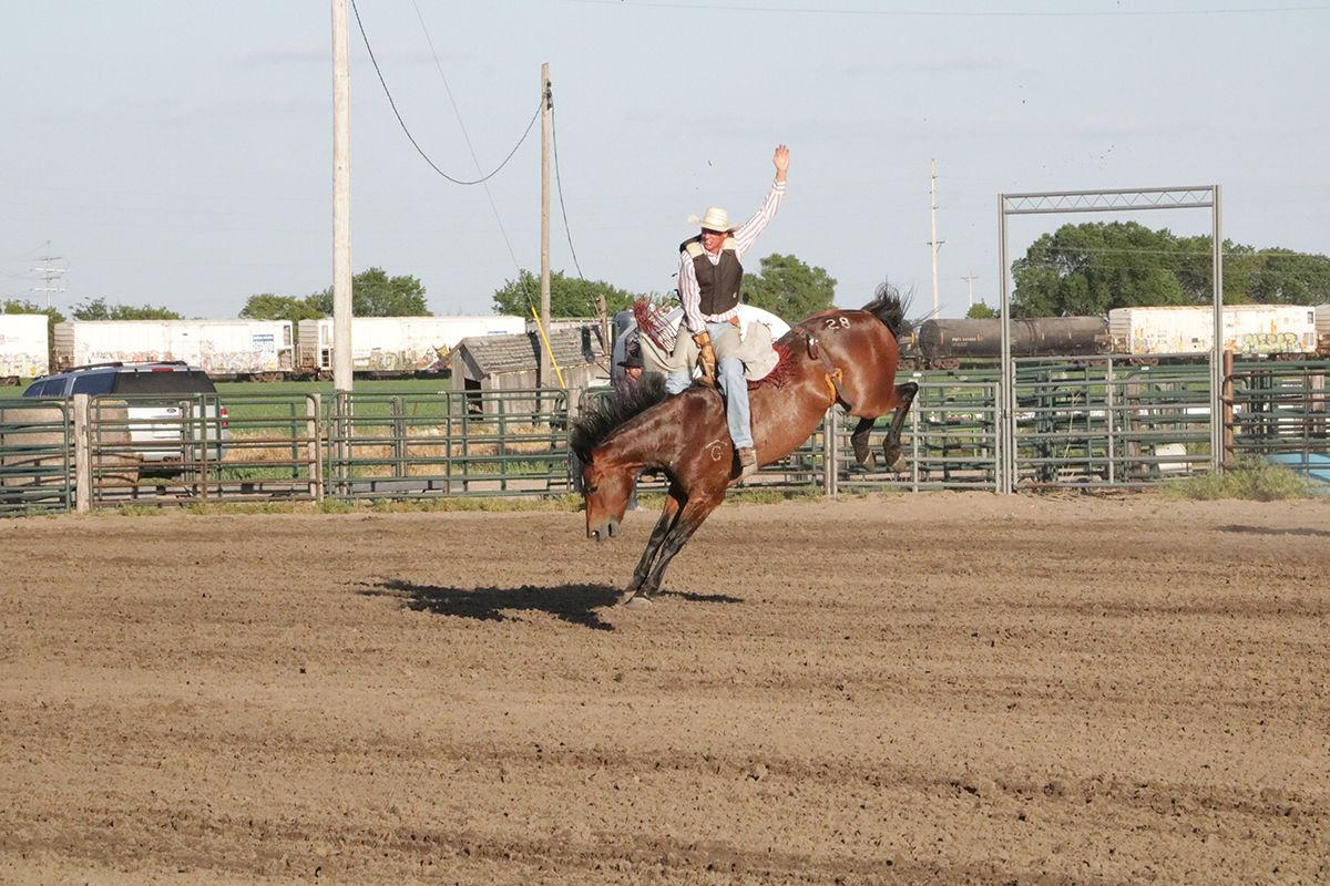 The show must go on: Plum Creek Rodeo deals with severe weather