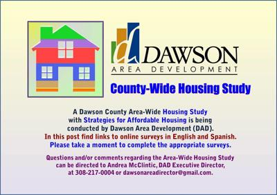 Area-wide housing study update underway for Dawson County
