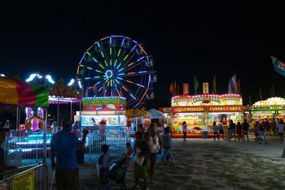 Dawson County Fair carnival