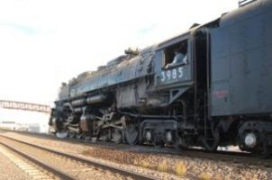 World's largest steam locomotive stops in Lex   Local News