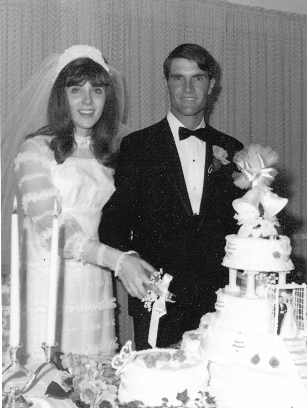 Dann and Pat Sharp celebrating 50th wedding Anniversary Old