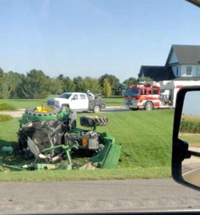 Kearney County Tractor accident