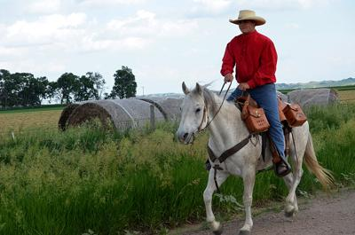 Annual Pony Express  Re-ride underway