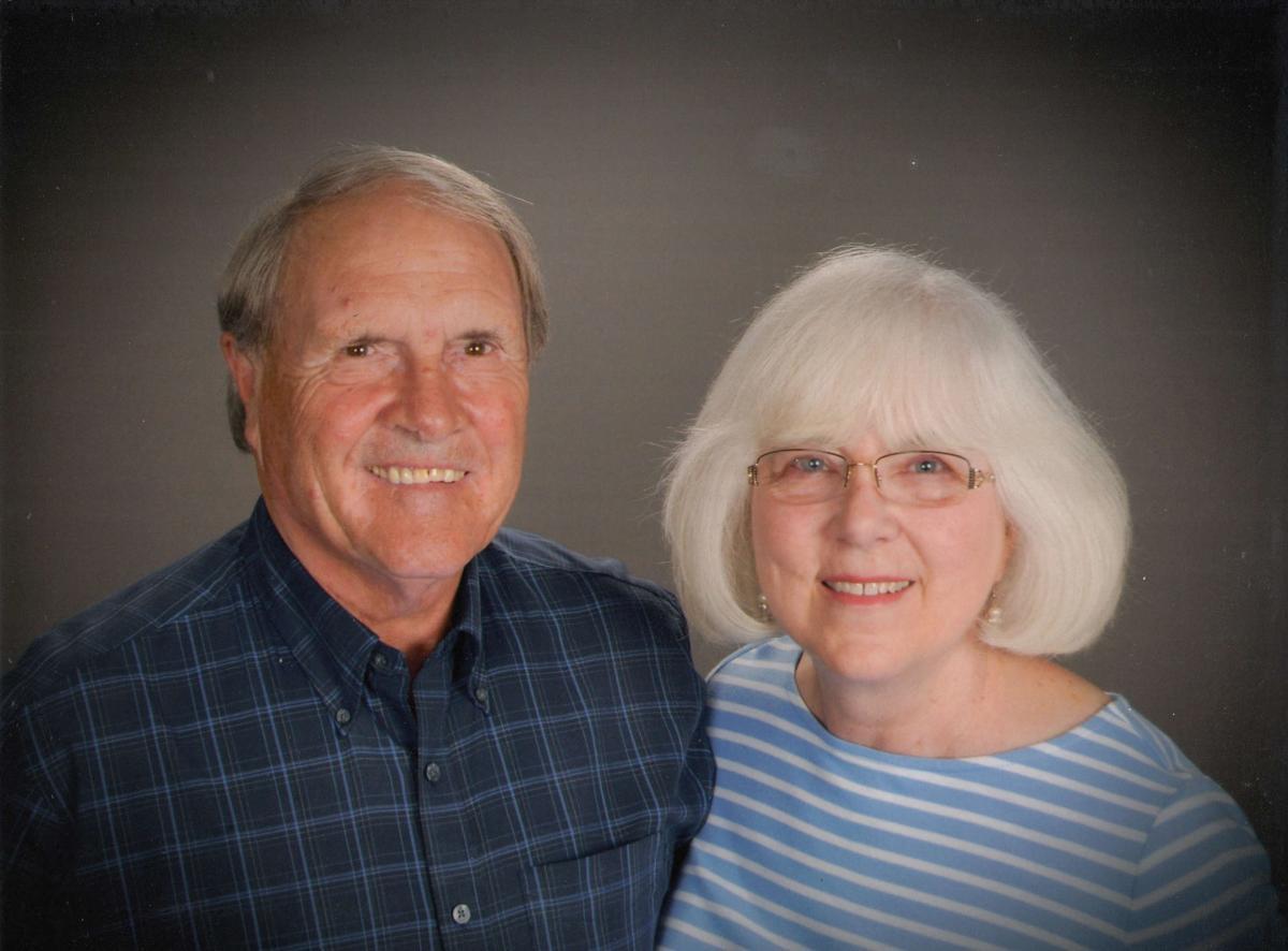 Dann and Pat Sharp celebrating 50th wedding Anniversary Current