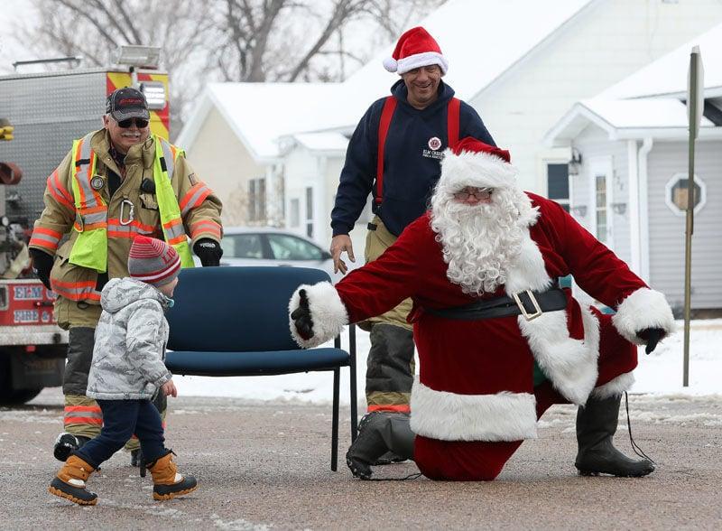 Chad Hunt as Santa Claus
