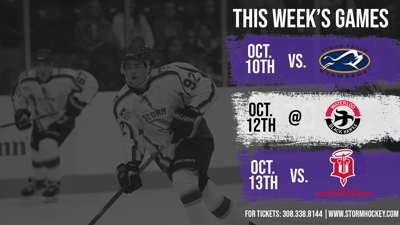 Storm Hockey game day preview