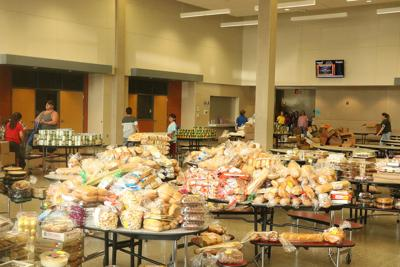 New changes to how food is distributed at the Lexington Mobile Food Pantry