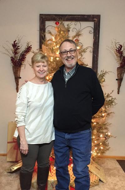 Tim and Carol Boyle celebrating 40 years