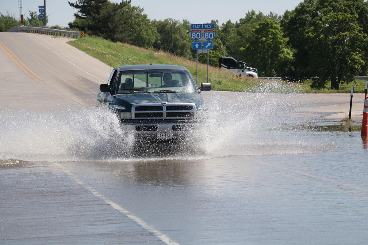 Flooded Road near Jay Bros