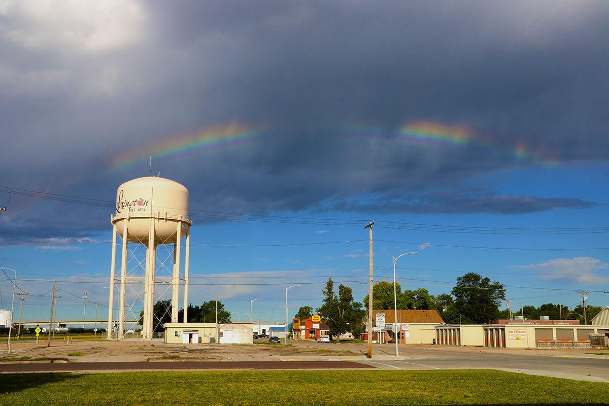 Rainbow over Lex