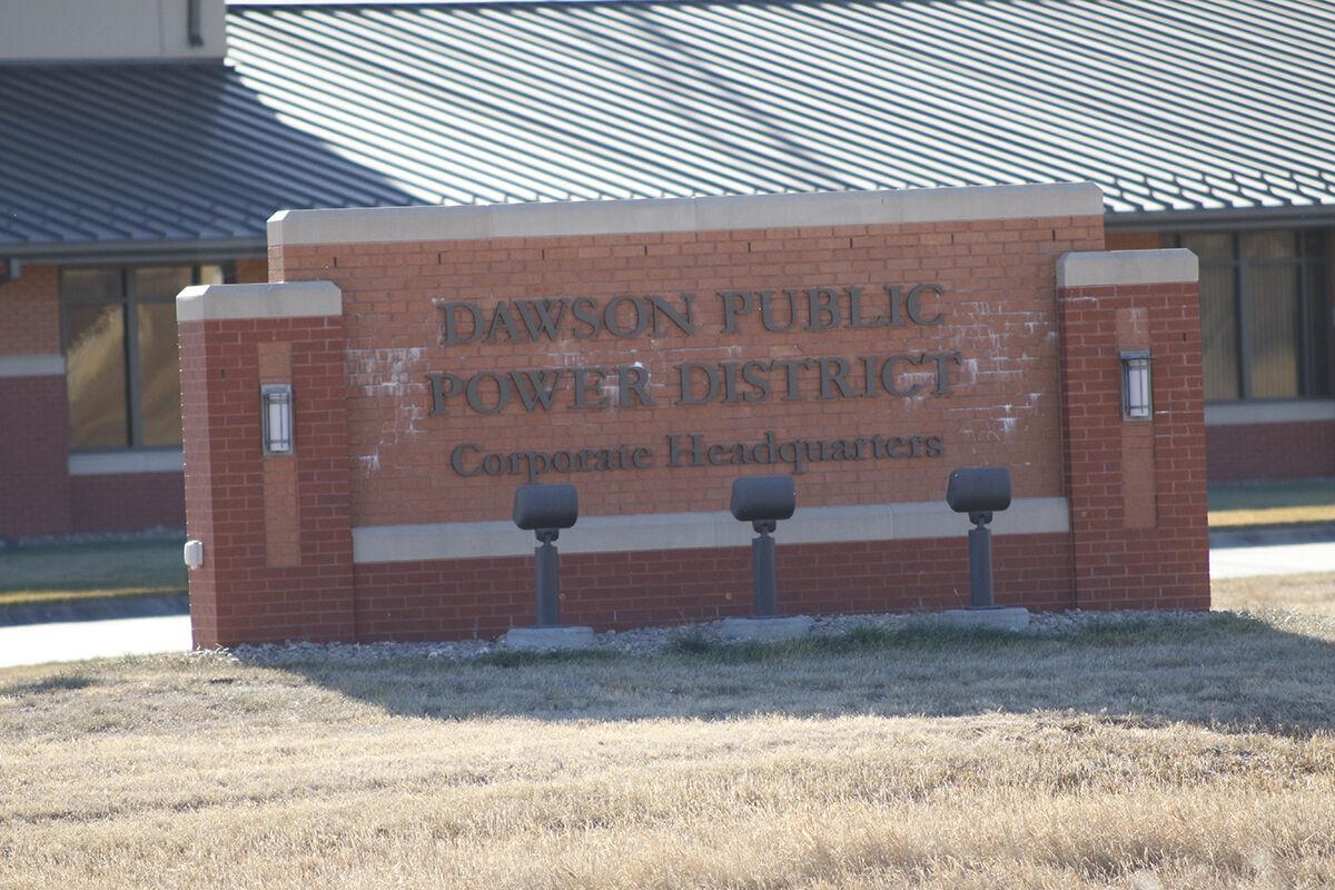Dawson Public Power District sign