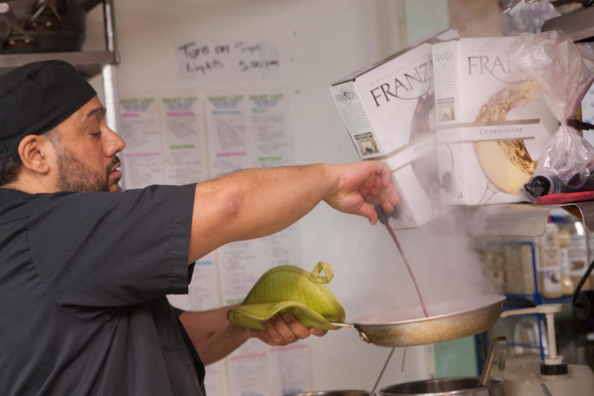 Chef and new Bella Italia owner Mark Diaz