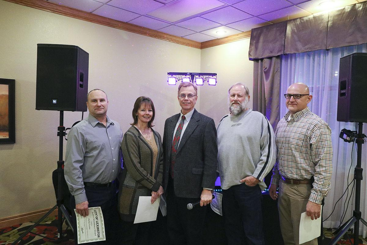 City of Lexington banquet celebrates employees' work, years of service