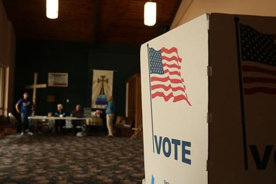 Lexington poll workers see decreased turnout after record vote-by-mail requests