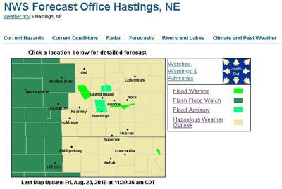 Flash Flood Watch issued for central, western Nebraska starting at 7 p.m.