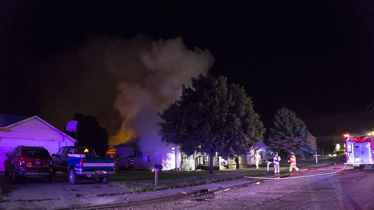 Cozad House Fire