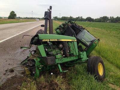 Drivers urged to be alert with farmer implements on the move