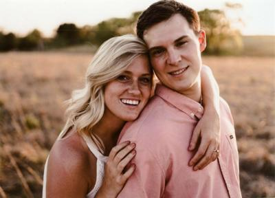 Bailey Frazier and Tyler Tingelhoff  engagement